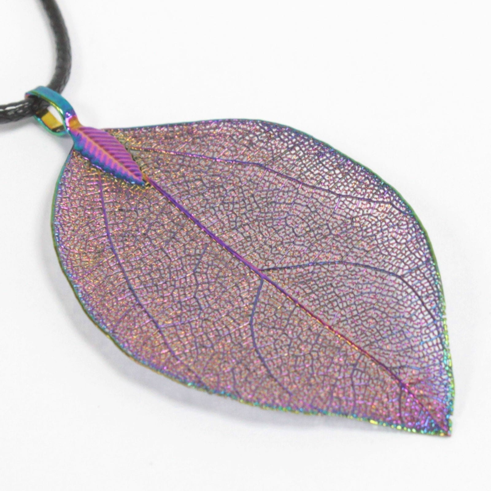 Bravery Leaf Necklace