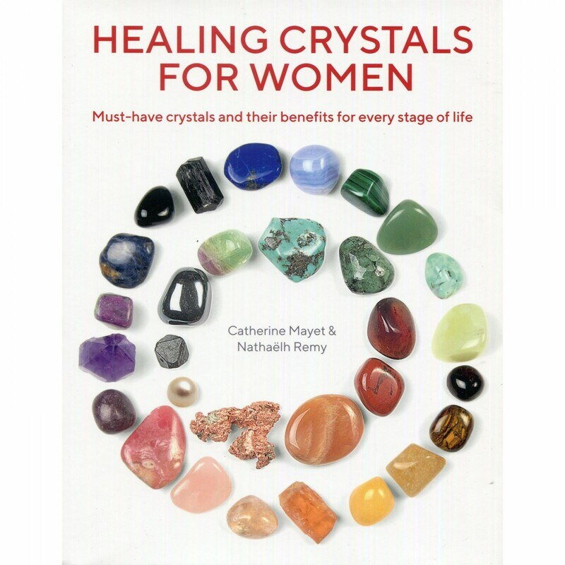 Book of healing crystals for women