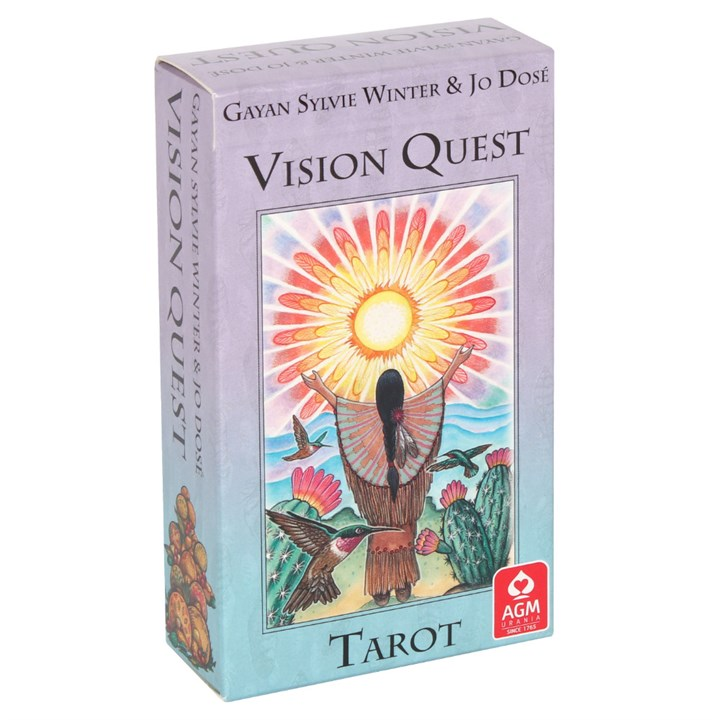 picture of vision quest tarot pack