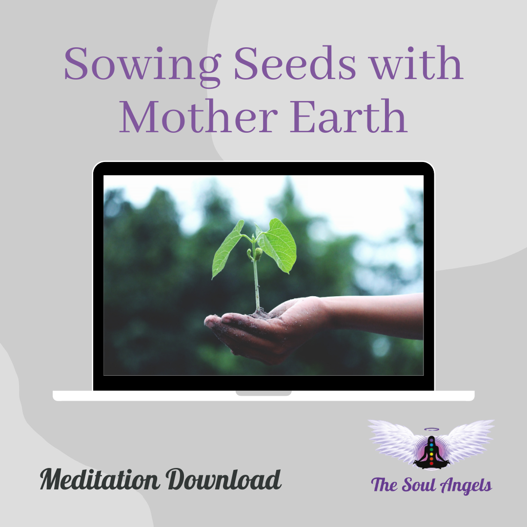 Cover for Meditation download -Goal Setting with Mother Earth
