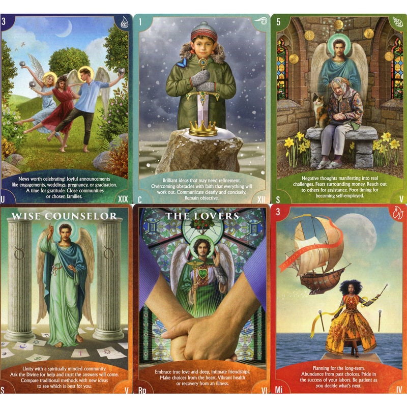 Angel Wisdom Tarot Cards