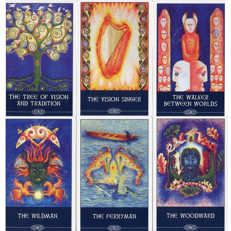 Cards inside Celtic Shamans Pack